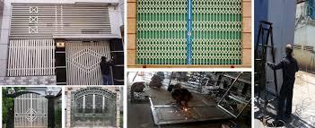sửa chữa cứa sắt tại nhà Thành Trung
